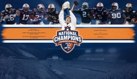 Auburn National Championship Wallpaper